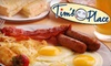 Tim's Place - Sycamore Plaza: $6 for $12 Worth of Breakfast Fare at Tim's Place