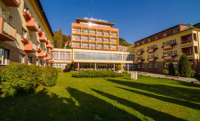 Karlovy Vary: 1-5 Nights for One or Two with Half Board and Spa Access at the 4* Spa Resort Sanssouci