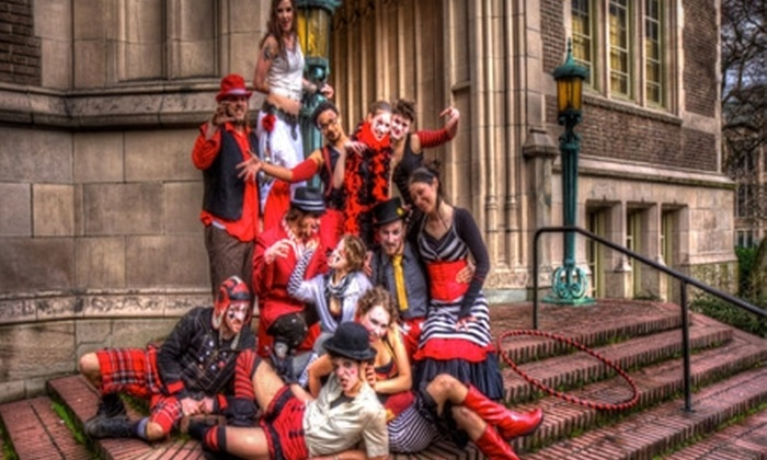 """The Harlequin Hipsters - Seattle: One Ticket to """"Passion, or Death!"""" by The Harlequin Hipsters. Four Showtimes Available."""
