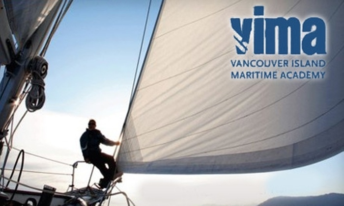 Vancouver Island Maritime Academy - Victoria: Sailing Courses at Vancouver Island Maritime Academy. Choose Between Two Options.