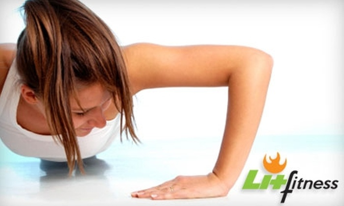 Lit Fitness - Multiple Locations: $29 for One Month of Unlimited Women's Boot Camp at Lit Fitness ($159 Value)