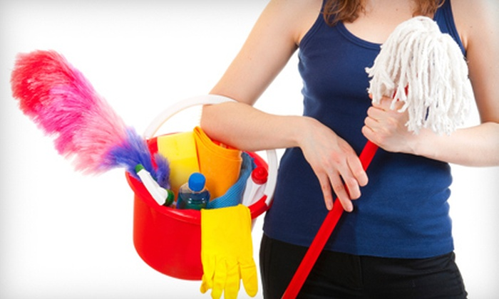 Budget Maid Agency - Vacaville: $49 for Two Hours of Housecleaning from Budget Maid Agency ($120 Value)