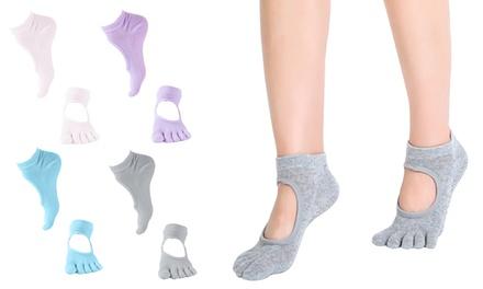 Five-Toe Yoga Sport Socks