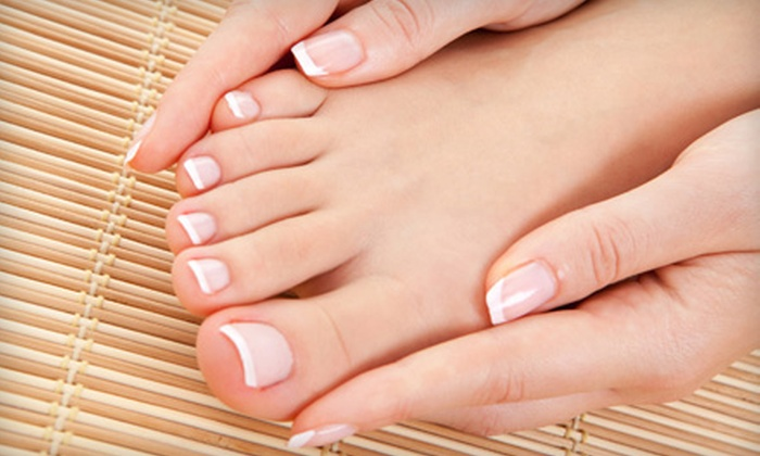 byuti salon + spa - Central Sacramento: Spa Mani-Pedi or Nonsurgical Signature Facelift at byuti salon + spa