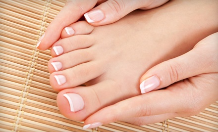 Spa Manicure and Pedicure (a $58 value) - byuti salon + spa in Sacramento