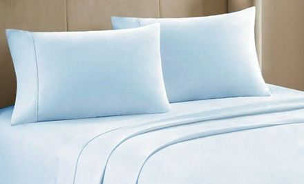 4-Piece Microfiber Sheet Set