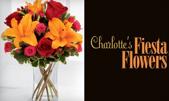 Charlotte's Fiesta Flowers - Triangle State: $35 for $75 Worth of Fresh Flowers at Charlotte's Fiesta Flowers