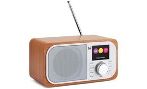 Enceinte radio réveil Dual
