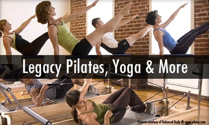 Legacy Pilates, Yoga & More - West Omaha: $45 for One Month of Unlimited Floor Classes Plus Four Equipment Classes at Legacy Pilates, Yoga and More ($220 Value)