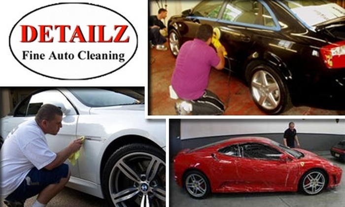 Detailz Fine Auto Cleaning - Georgetown: $79 for the Exterior Detail Supreme Package at Detailz Fine Auto Cleaning (Up to $135 Value)