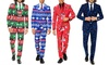 OppoSuits Men's Slim Fit Ugly Christmas & Star Wars Suits