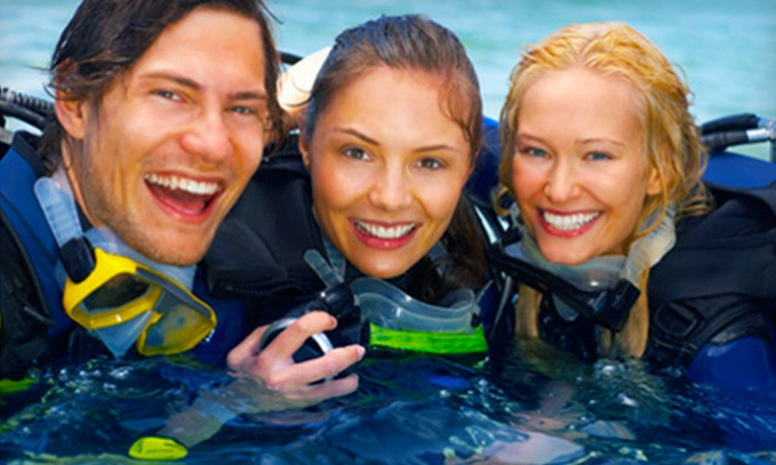 "My Scuba Adventures - Stallings: ""Discover Scuba"" Class or a PADI Open-Water Diver Class at My Scuba Adventures in Stallings"