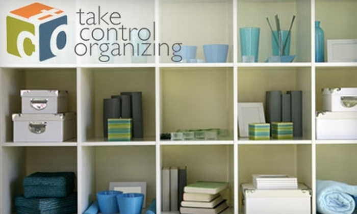 Take Control Organizing - Eugene: $65 for Three Hours of Professional Home or Office Organizational Services from Take Control Organizing