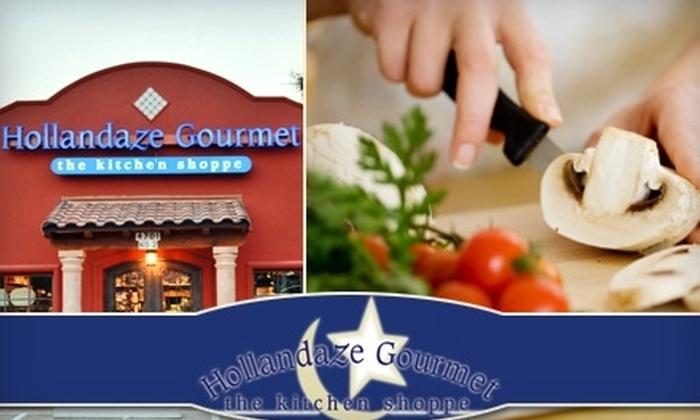 Hollandaze Gourmet - Georgetown: $25 for a Cooking Class from Hollandaze Gourmet ($50 Value)