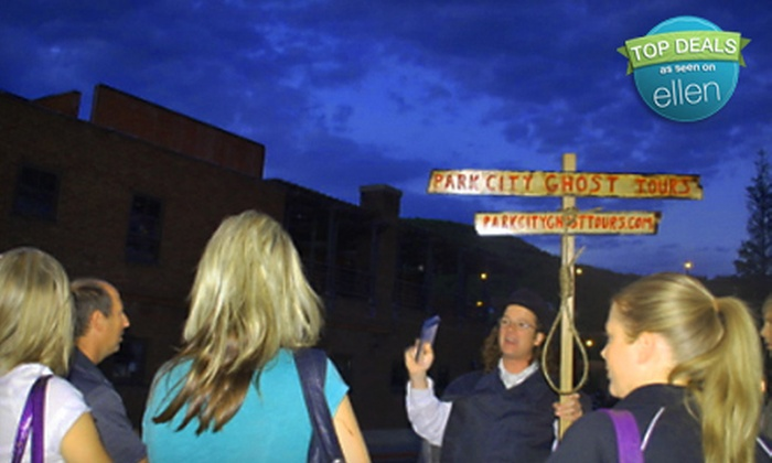 Park City Ghost Tours - Park City: $49 for a Haunted Tour for Five People from Park City Ghost Tours ($100 Value)