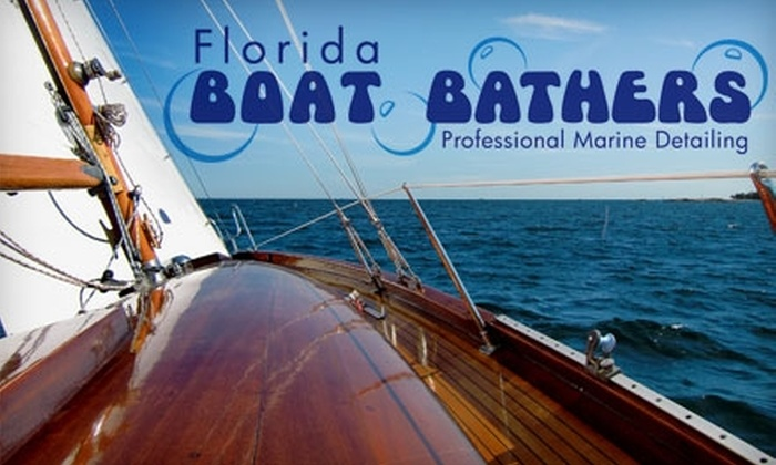 Florida Boat Bathers - Tampa Bay Area: $50 for $125 Worth of Boat-Washing Services from Florida Boat Bathers