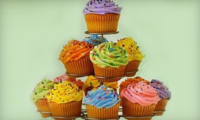 Busy B's Bakery - Shops At Thornydale: $18 for a Dozen Gourmet Cupcakes at Busy B's Bakery (Up to $48 Value)