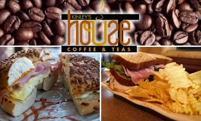 Kinley's House - El Paso: $5 for $10 Worth of Coffee, Crêpes, and More at Kinley's House