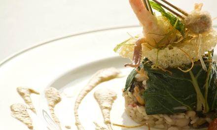Esclusivo menu di pesce con vino pregiato