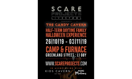 Asylum or Candy Cavern Halloween Experience, 24 October 3 November at Camp and Furnace