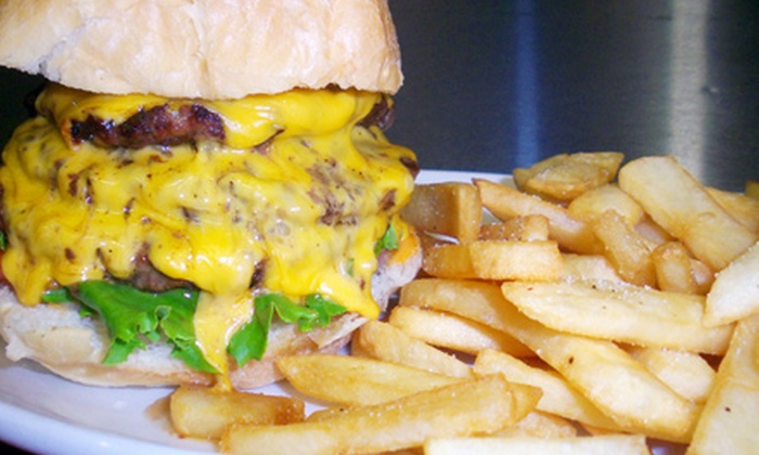 The Davis Graduate - Central Davis: $21 for Burgers with Fries and Draft Beer for Two at The Davis Graduate (Up to $41.90 Value)