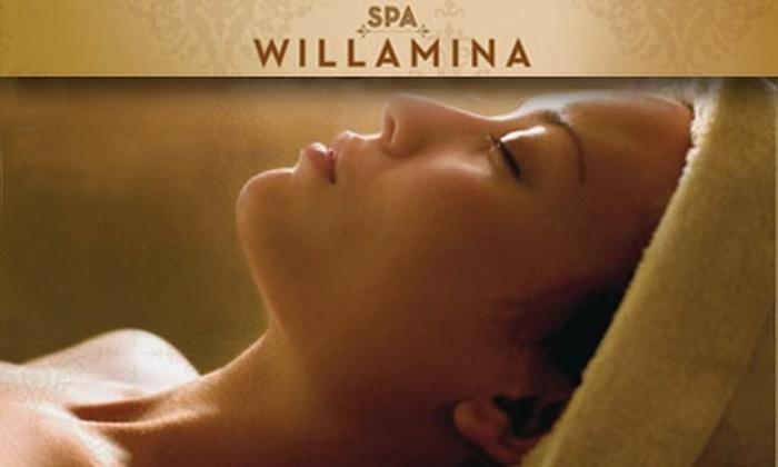 Spa Willamina - Hollywood: $50 for an Aromatherapy Massage at Spa Willamina ($110 Value)