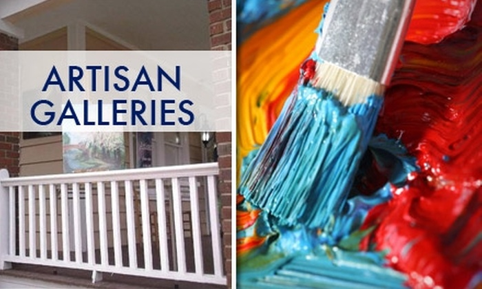 The Artisan Galleries and Learning Studio - Dilworth: $15 Introductory Art Class at The Artisan Galleries and Learning Studio (Up to $39 Value)