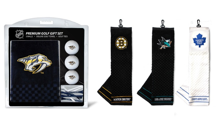 ffbc20960 Up To 28% Off on Team Golf NHL Towel Gift Set