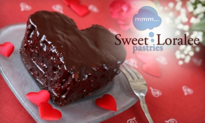 Sweet Loralee Pastries - Wake Forest: $10 for Six-Inch Heart-Shaped Cake at Sweet Loralee Pastries in Wake Forest ($20 Value)