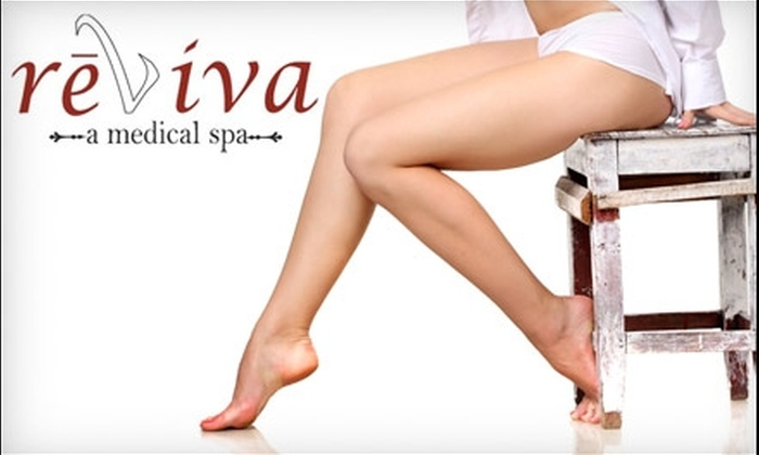 Reviva Medical Spa - Neptune Beach: $99 for Three Laser Hair-Removal Treatments at Reviva Medical Spa in Neptune Beach (Up to $825 Value)