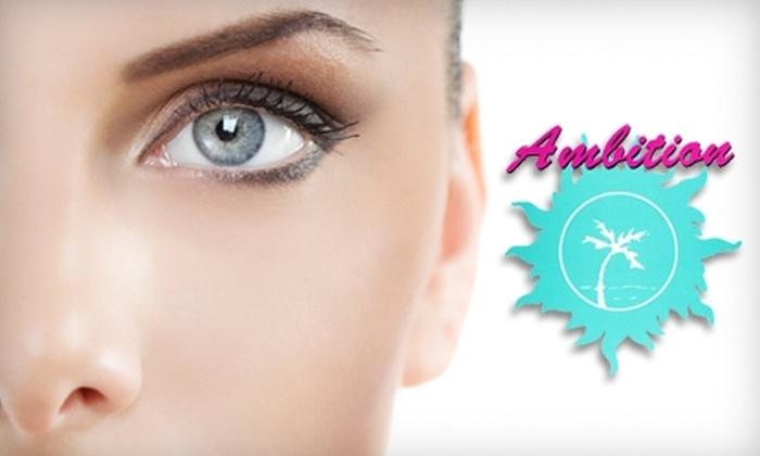 Ambition Salon - 3: $125 for Eyelash Extensions and Eyebrow Waxing at Ambition Salon in Pasadena