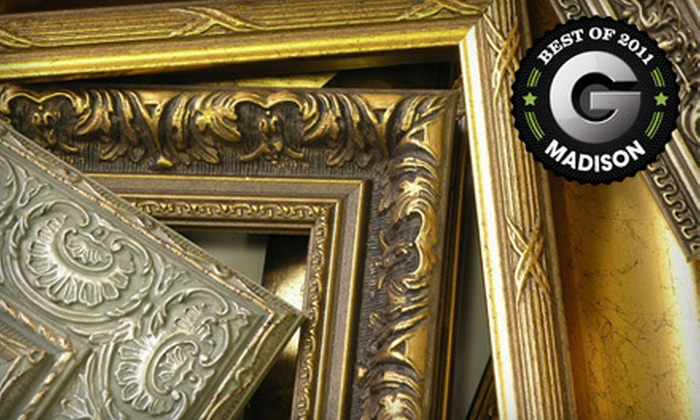 Middleton Art & Framing - Meadows: $49 for $110 Worth of Custom Framing at Middleton Art & Framing