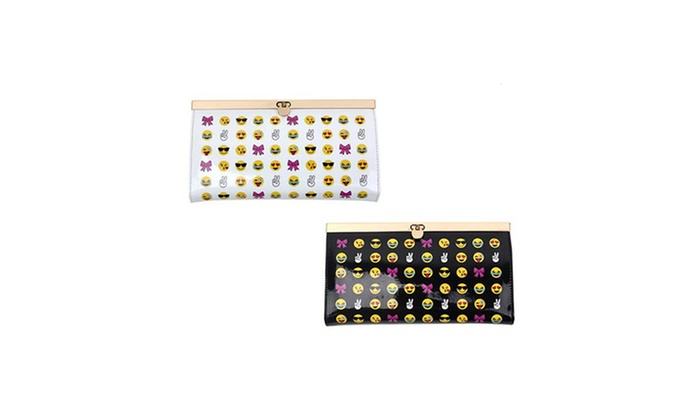 Mata Collection Casual Emoji Clutch
