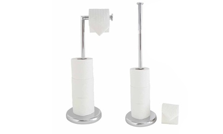 Free-Standing Toilet Roll Holder