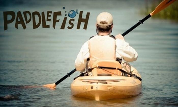 PaddleFish Kayaking - Tybee Island-Wilmington: $20 for a Savannah/Tybee Dolphin Kayak Nature Tour at PaddleFish Kayaking ($45 value)