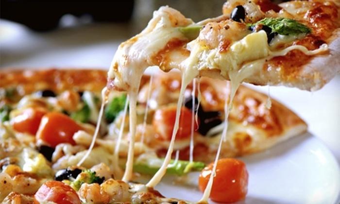 Zaa! Simply Unique Pizza - Rochester: $10 for $20 Worth of Gourmet Pizza at Zaa! Simply Unique Pizza in Rochester Hills