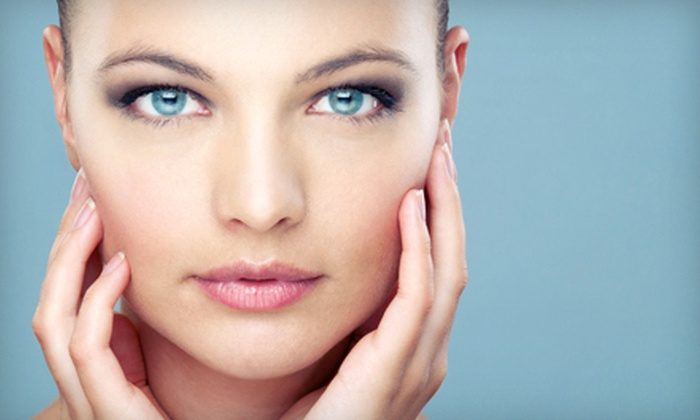 Queens Quay Medspa - Toronto: One or Three Aluma Nonsurgical Eyelid Lifts or Face-and-Neck Lifts at Queens Quay Medspa (Up to 81% Off)