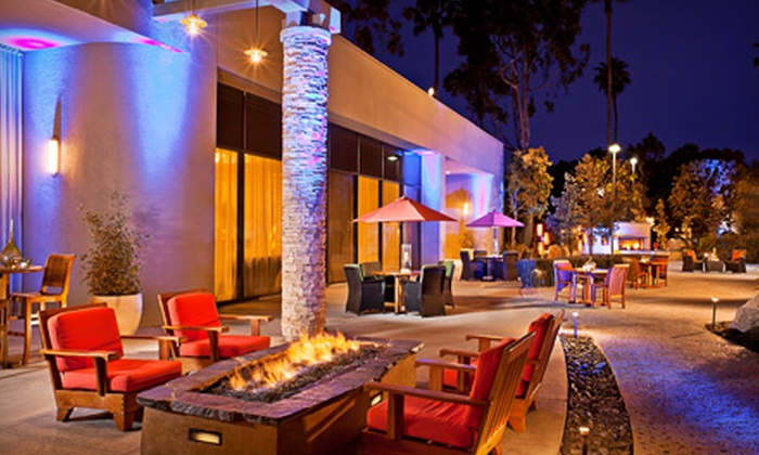 Rain Wine Bar and Lounge - Torrance: $34 for Four Signature Cocktails and Two Appetizers at Rain Wine Bar and Lounge at the Torrance Marriott Hotel ($72 Value)