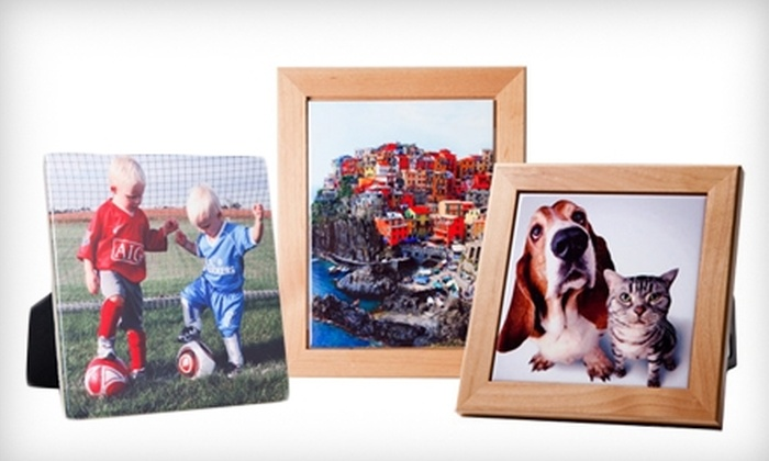 "TilesandSmiles: $10 for a 6""x6"" Custom Photo Tile ($24.95 Value) or $25 Toward Tiles at TilesandSmiles"