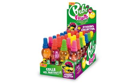 28 botellas de bebida gaseosa Bibi Fruits por 13,99 €