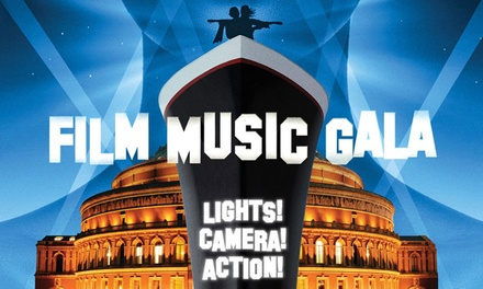 Film Music Gala by Royal Philharmonic Orchestra on 22 April at Royal Albert Hall (Up to 50% Off)
