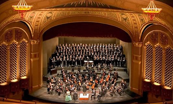 Symphony Silicon Valley - Downtown San Jose: Four-Concert Package with Orchestra or Dress-Circle or Grand-Tier Seating at Symphony Silicon Valley (Up to 60% Off)