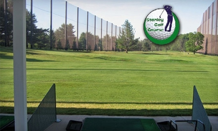 Stanley Golf Course - Multiple Locations: $25 for $50 Worth of Range Balls at Stanley Golf Course