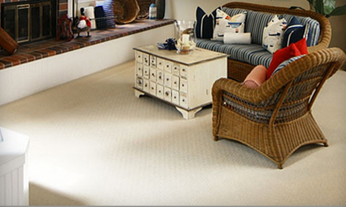 Nationwide Carpet & Furnace Cleaning  - Mt. Pleasant: $49 for a Three-Room Carpet Cleaning from Nationwide Carpet & Furnace Cleaning ($109 Value)