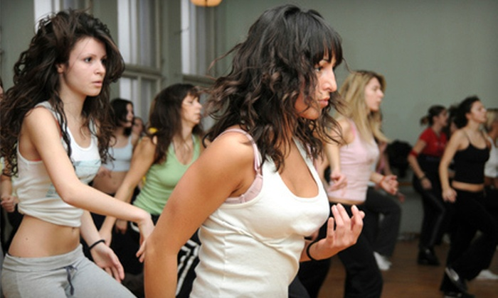 FitNice - Multiple Locations: 5, 10, or 20 Zumba Dance-Fitness Classes at FitNice (Up to 75% Off)