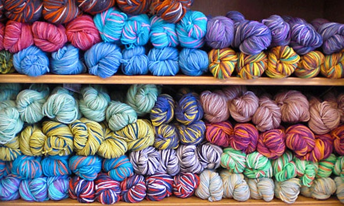 Fashion-knit - Downtown Walnut Creek: $15 for Beginner's Knitting Class ($45 Value) or for $30 Toward Any Class at Fashion-Knit in Walnut Creek