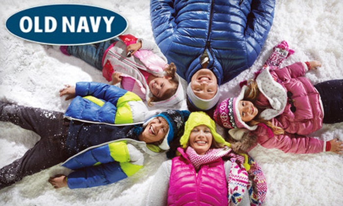 Old Navy - Northwest Columbia: $10 for $20 Worth of Apparel and Accessories at Old Navy