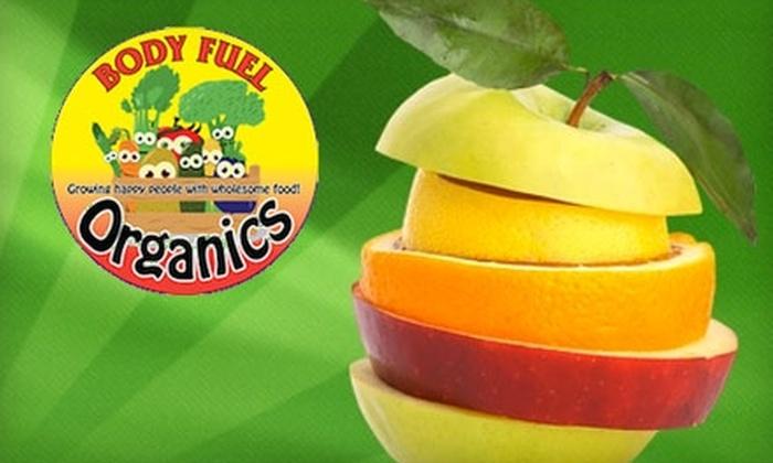 Body Fuel Organics - Regina: $20 for Large Organic Produce Bin Service at Body Fuel Organics ($40 Value)