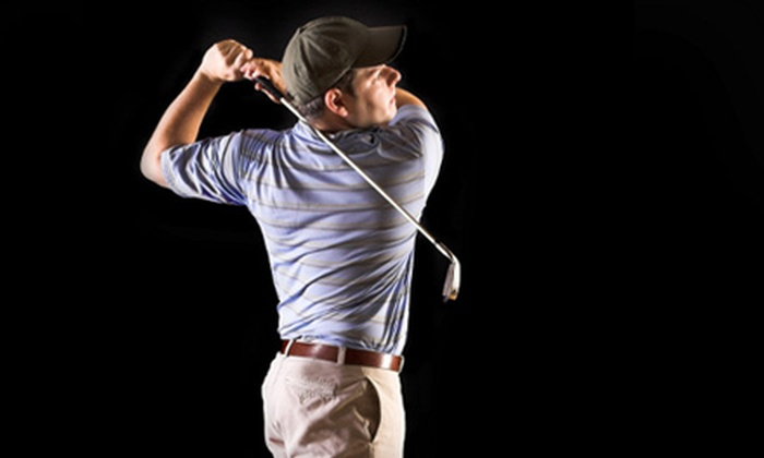 Golf Without Limits - Bostwick: $20 for One Hour of Simulated Golf at Golf Without Limits (Up to $40 Value)