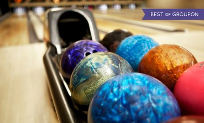 image for Bowling and Food for Up to Six at The Dunes South Shields (Up to 85% Off)